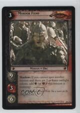 2004 The Lord of the Rings TCG: Mount Doom #10C91 Mordor Fiend Gaming Card 0f8