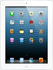 Apple IPAD 4 9,7 Pulgadas 16GB Wifi Celular Ios Tableta Blanco - Buen Estado