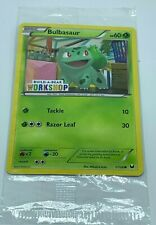Bulbasaur 1/108 Build a Bear exclusive Pokemon collectible card NEW