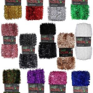 Christmas Tree 50ft x 3cm Tinsel GREAT VALUE