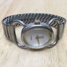 Vintage Rotary Dynasty Swiss Made 17 Jewels Oval Hand-Winding Watch Hours~Runs