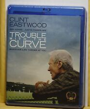 NEW TROUBLE WITH THE CURVE ON BLU-RAY+DVD+HD ULTRAVIOLET! NO SLIP! FACTRY SEALED