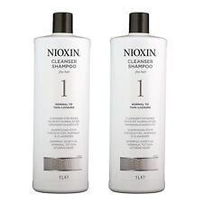 2 x NIOXIN System 1 Cleanser - Shampoo 33.8 oz (2 Packs)