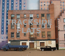 #320 O scale background building flat  MAYFLOWER APARTMENTS   *FREE SHIPPING*