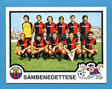 CALCIATORI PANINI 1982-83 Figurina-Sticker n.544-SAMBENEDETTESE SQUADRA-New