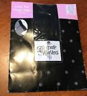 Private Matters BLACK LACE TOP THIGH HIGH THI HI STOCKINGS Size A 8 1/2-9