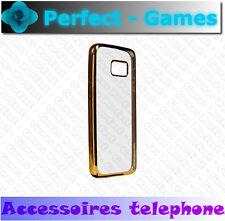coque housse protection cover case estuche KHORA Samsung galaxy S7 chrome or