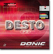 Donic Desto F3 Revestimiento de Tenis de Mesa Revestimiento de Ping Pong