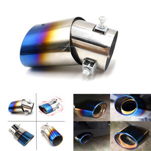 Car Vehicle Exhaust Tail Pipe Tip Muffler Stainless Steel Replacement Car Parts