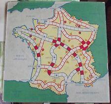 Ancien Jeu de l'Oie M.F.R. France Rallyes Rare 33 x 33 + ou -