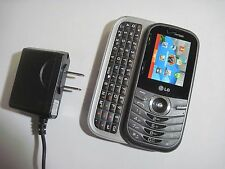 PREPAID VERIZON LG Cosmos 3 VN251s Camera QWERTY CDMA Slider Cell Phone GOOD!
