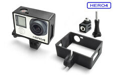 Frame Mount & Tripod Mount For GOPRO Hero 4 Frame Accessories Tripod Adapter