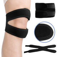 Adjustable Knee Support Patella Strap Band Tendon Brace Relieve Pain Sports Gym