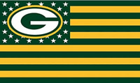 Packers FLAG 3X5 Green Bay Banner American Football New Fast USA Shipping