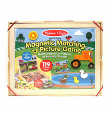Melissa And Doug Magnetic Matching Picture Game #9918
