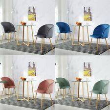 3x Juego de mesa y sillas de comedor , mesa de cristal y 2 sillas acolchadas