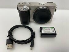 Sony Alpha a6000  24.3 MP Digital Camera BODY - Silver