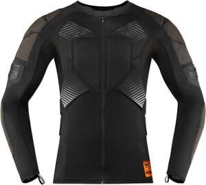 Icon Field Armor Compression Shirt Black