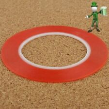 2mm Double Sided Super Sticky Tape Red Strong Craft DIY Roll Adhesive