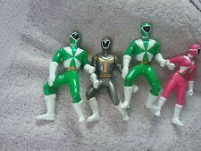 Vintage Bandai Power Rangers Lightspeed Rescue Battle Action Figures Lot