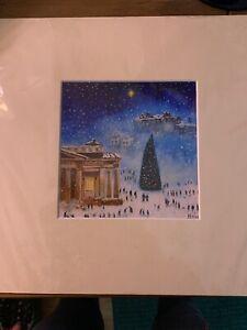 Print Christmas Time In Edinburgh New In Seal