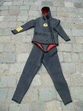 TENUE DE PLONGEE ANCIENNE BEUCHAT SUB OLD DIVING JACKET +TROUSERS / TABLE GERS