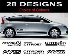 citroen C1 C2 C3 C4 C5 C6 Ds3 Ds4 saxo xantia xsara decals stickers 2off medium