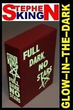 FREE SHIPPING!! STEPHEN KING Slipcase FULL DARK NO STARS GLOWS in DARK! 3 Sided!