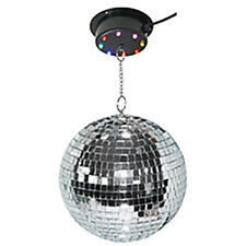 Disco LED DJ Disco Ball Motor Illuminated Light Effect Lighting Mirror Globe