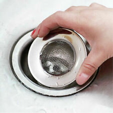 Stainless Steel Sanitary Sink Bathtub Drain Hole Hair & residue Screen Strainers