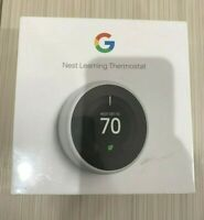 ✳️ Nest T3017US 3rd Generation Programmable WiFi Smart Learning Thermostat White
