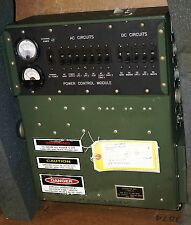 MILITARY J-6081 POWER BREAKER PANEL 120 VAC & 28 VDC MK-2722/G VAN TRUCK SHELTER