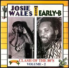 JOSIE WALES MEETS EARLY B - Clash Of The 80's Volume 2 - Jamaican LP
