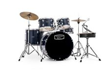 Mapex Tornado Beginner Compact Drum Kit Royal Blue Tnd5844ftc-yb Ideal for Kids