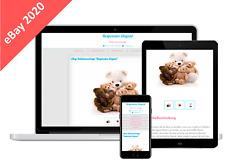eBay HTML Vorlage 2020 Responsiv   Template für eBay Auktionen Mobile optimiert