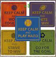 Keep Calm Stickers x 15 - Favours, Teacher Rewards, Sport Teachers Motivational