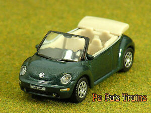 Die Cast 2004 Beede Cabrio VW Convertible HO Scale 1:87 by Model Power