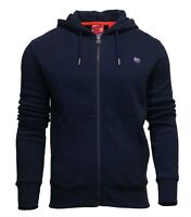 Superdry Mens New Collective Long Sleeve Full Zip Hoody Navy