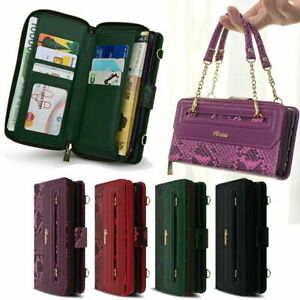 Vanessa Wallet Case for Samsung Galaxy S21 S21+ S21 Ultra / S20 S10 S9 S8 S7