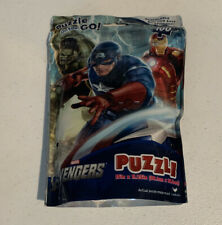 Marvel Avengers 100 Pc Puzzle. Resealable Puzzle On The Go! Cardinal 2012