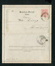 "Österreich Kartenbrief K23 ""Drosau Strazov""   (EB-9)"