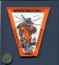 SAR Search & Rescue Swimmer DEATH CHEATERS Shark US NAVY USMC Squadron Patch