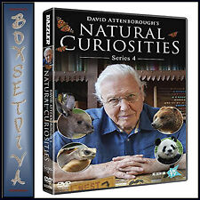 DAVID ATTENBOROUGH'S NATURAL CURIOSITIES:  COMPLETE SERIES 4 *BRAND NEW DVD**