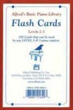 Alfred's Basic Piano Library Flash Cards For Players Levels 2-3 Music Education
