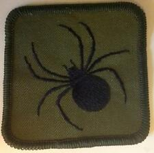 ROYAL AIR FORCE  REGIMENT 58 squadron DZ/TRF black widow spider patch