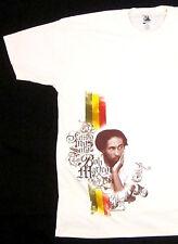 BOB MARLEY T-shirt Reggae Rasta ZION ROOTSWEAR Tuff Gong Tee Adult 2XL Beige New