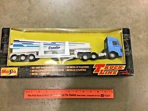 Vintage Maisto Truck Line 1/43 semi truck & Condor glider load FREE Shipping