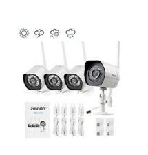 Camara De Seguridad Para Casas Profesionales 4 Pack Smart HD WiFi IP Night Visio