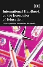 International Handbook on the Economics of Education (Elgar Original Reference)