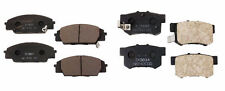NEW Acura RSX Honda Civic S2000 Set of Front and Rear Disc Brake Pads Nissin